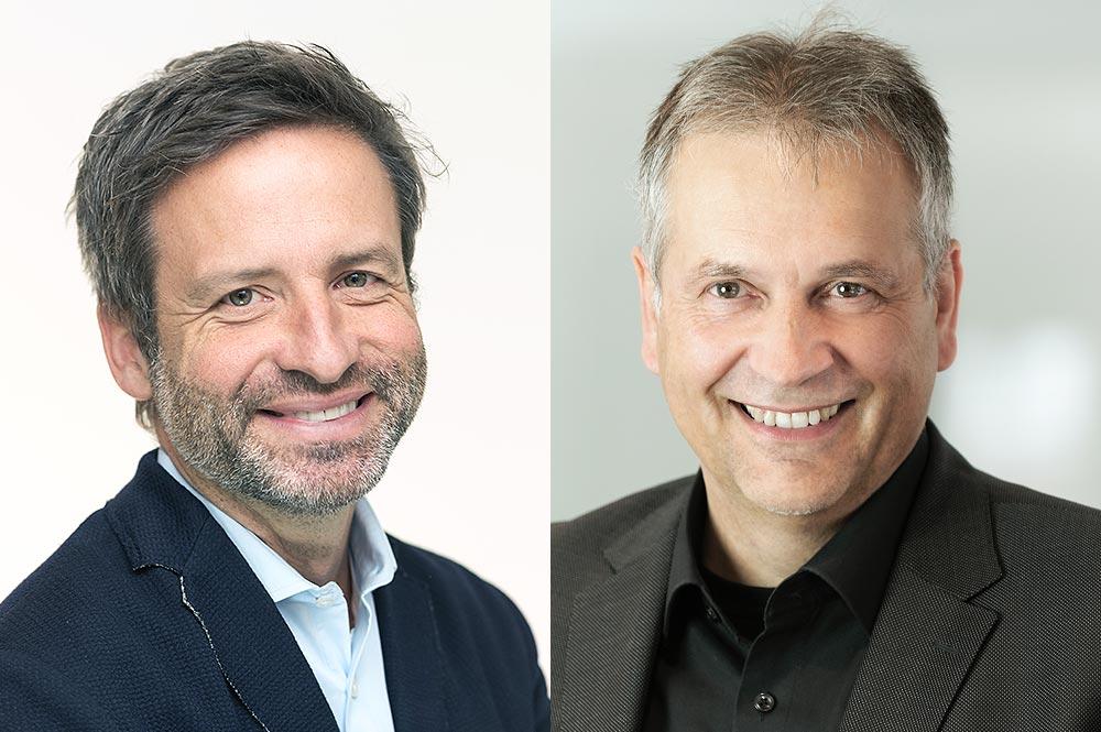 Dr. Oliver Hass und Michael Buttgereit